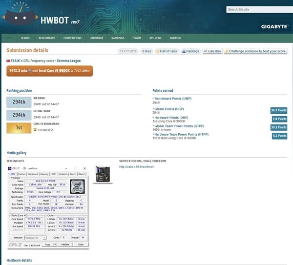 I9 9900k Overclock 5ghz