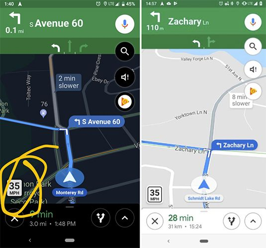 Google Maps now shows speed limits and speed cameras – Tech