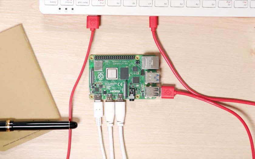Raspberry Pi 4 default USB-C