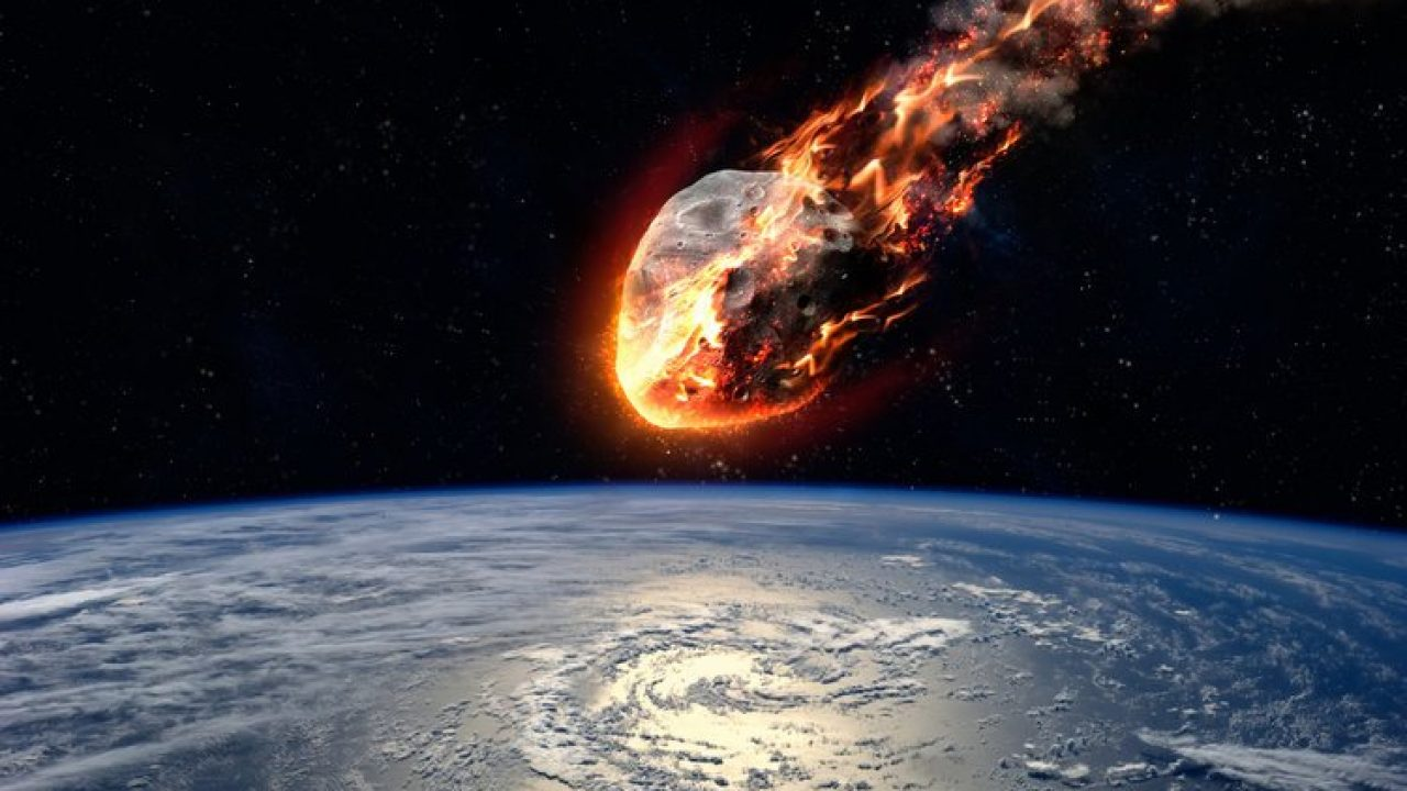 is asteroid hitting earth - 1280×720