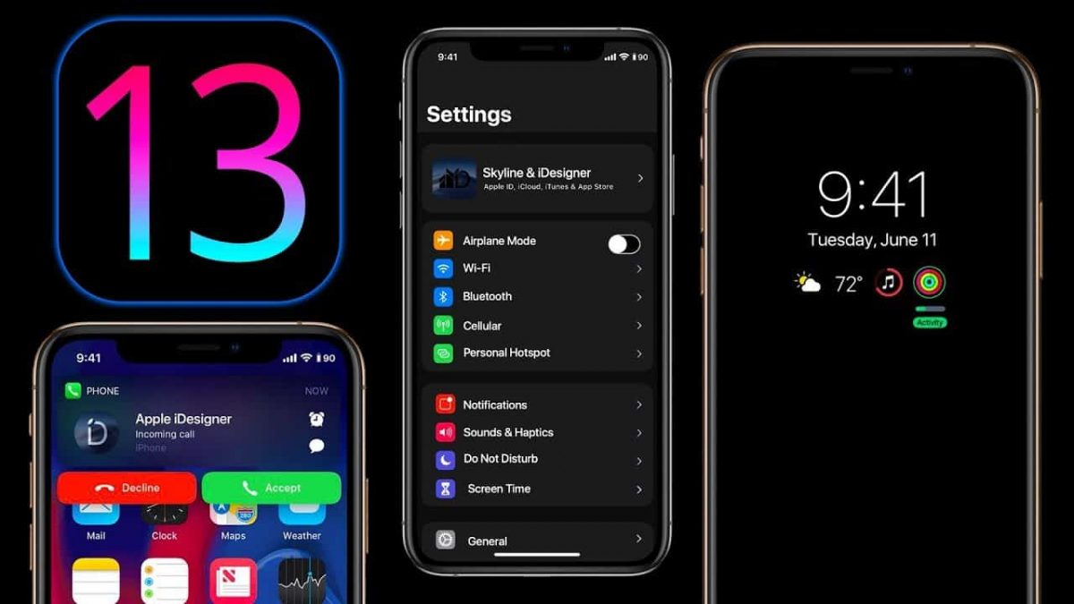 iOS 13: Saving the battery on your iPhone! Turn on dark mode