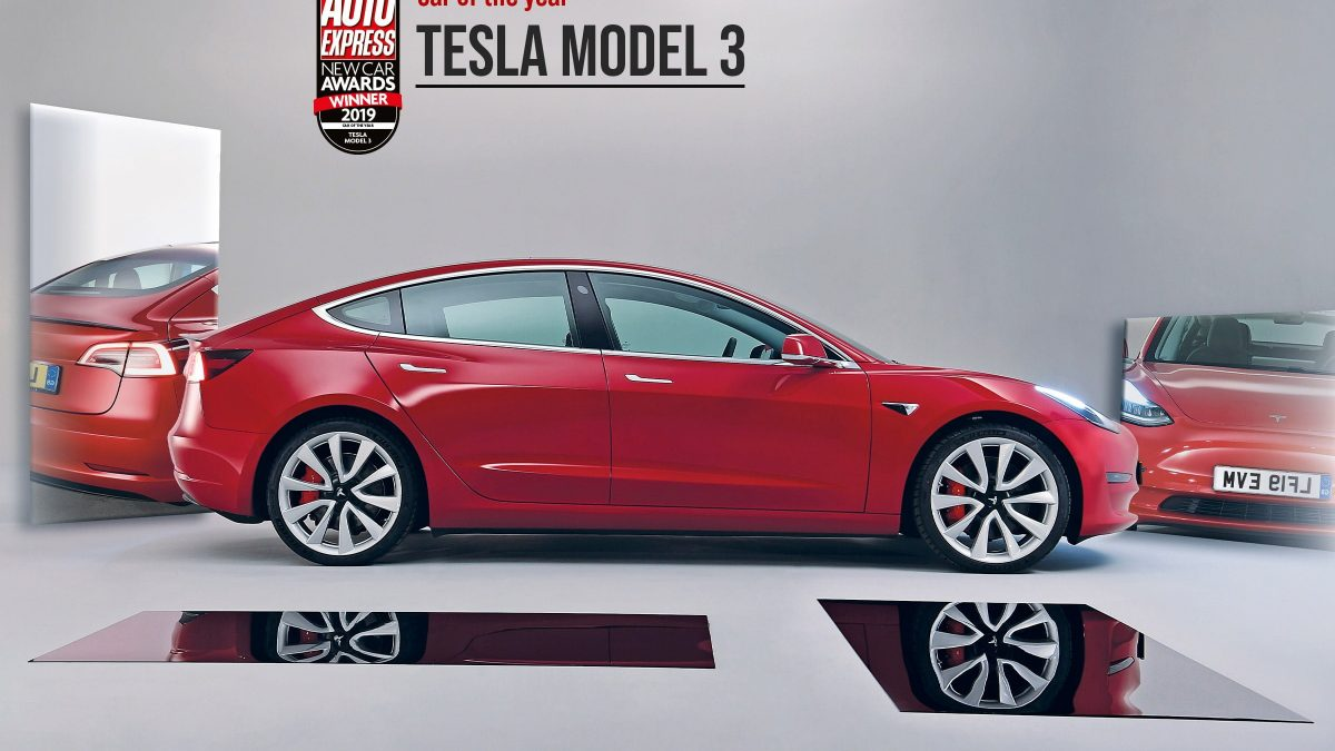 Tesla Model 3 has also received top safety award