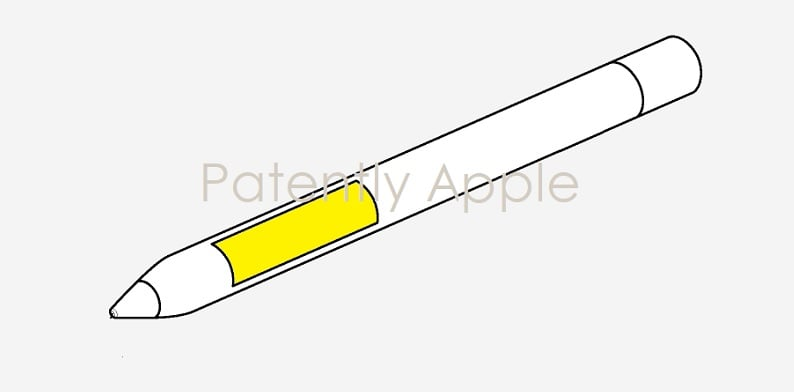 Apple Pencil: New patent 'Stylus con Display' with integrated LED display in the tip