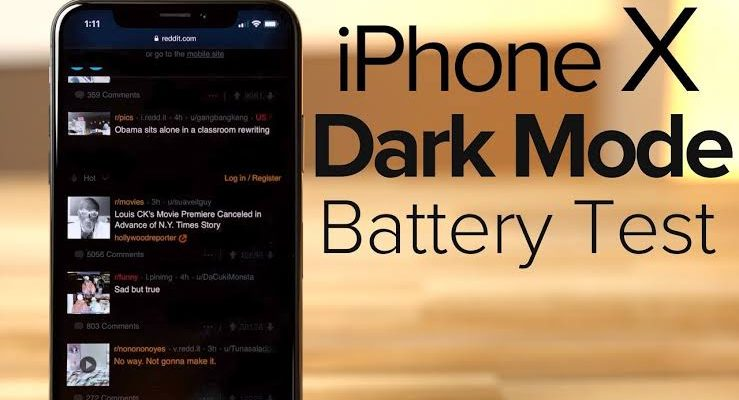 iPhone XS Max with iOS 13 in Dark Mode can save your battery upto 30 percent