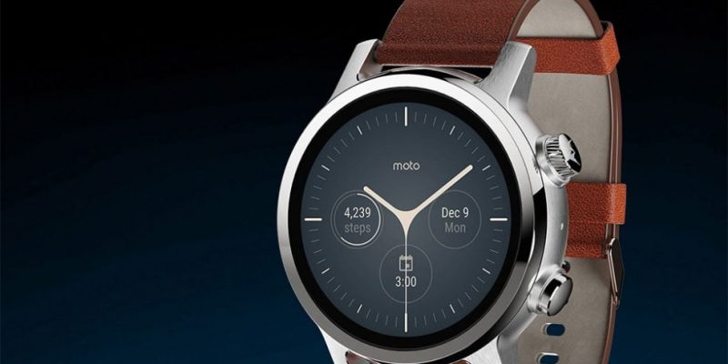 Smartwatch Moto 360 is back with Qualcomm Snapdragon, without Motorola tag