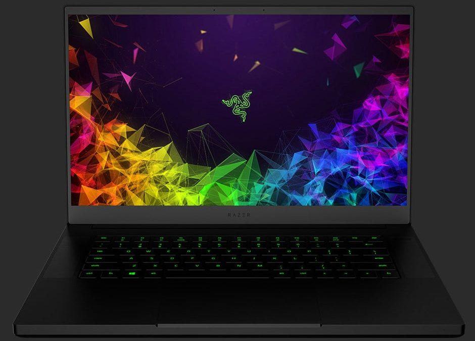 First laptop Razer Blade 15 Advanced with optical keyboard