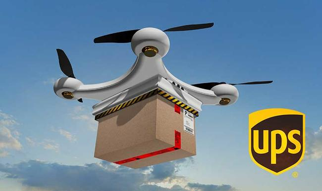 UPS allowed to operate commercial drones in the United States