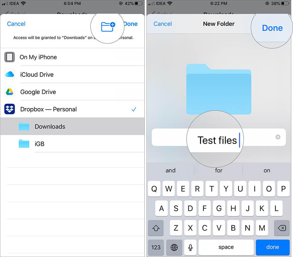 iOS 13 Safari Download 4