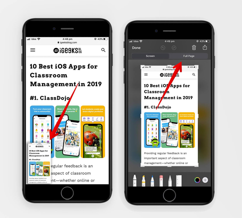 iOS 13 Safari PDF 2
