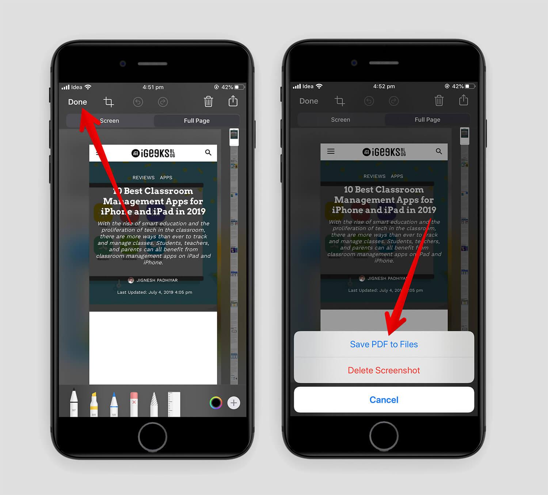 iOS 13 Safari PDF 3