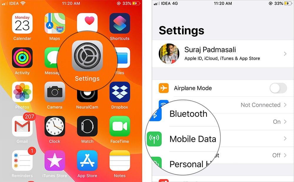 iOS 13 data 1
