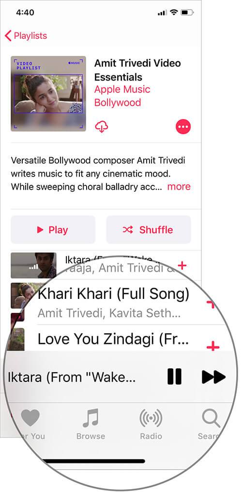 iOS music 2