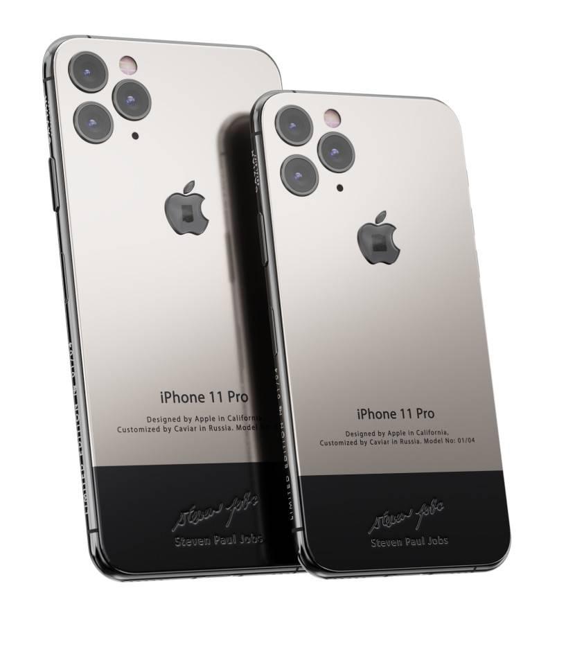 iPhone 11 Pro Steve Jobs