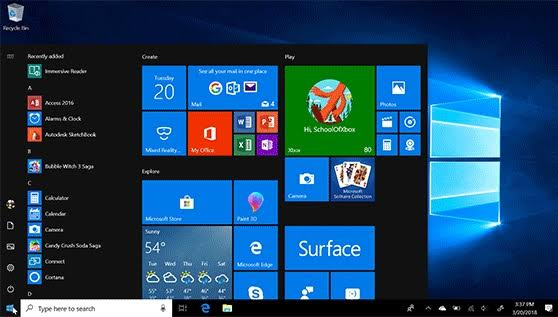 Windows 10 update accompanies serious issues to the Start Menu