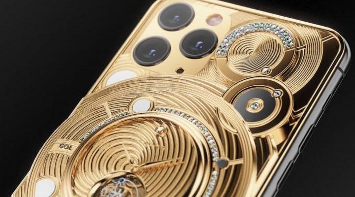 Caviar iPhone 11 Pro Gold