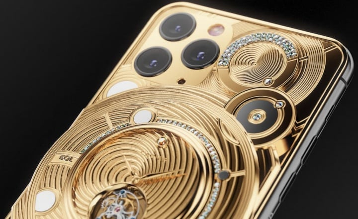 Caviar iPhone 11 Pro Gold