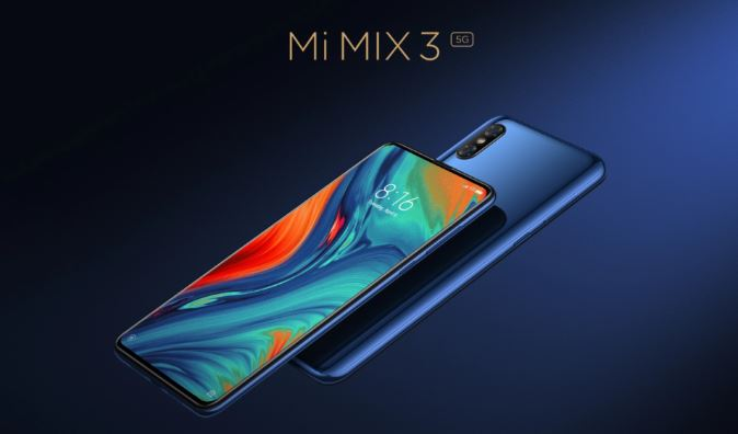 Xiaomi Mi MIX 3 5G is coming with a lot more memory