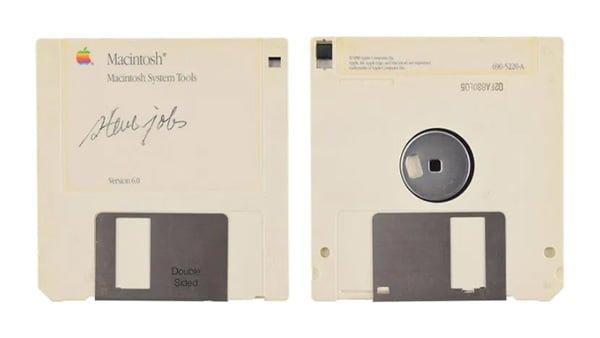 Floppy Disk Macintosh Steve Jobs