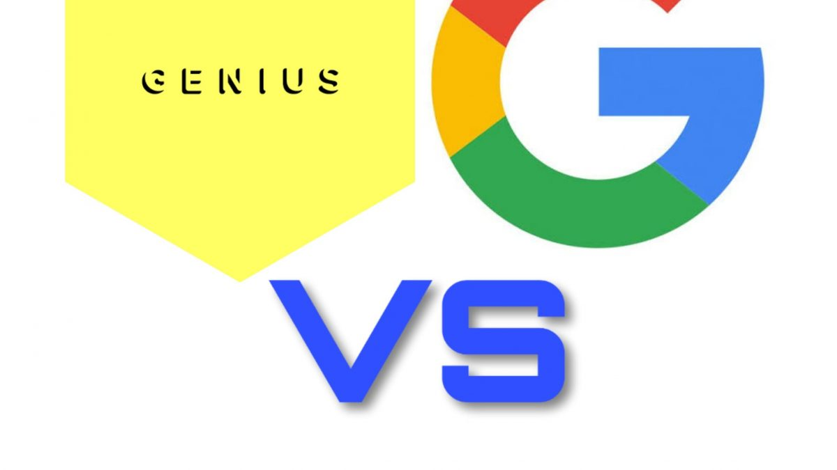Genius Sue Google