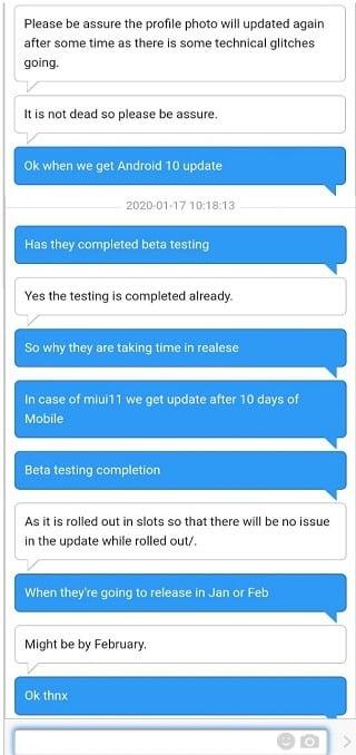 POCO F1 Android 10 2
