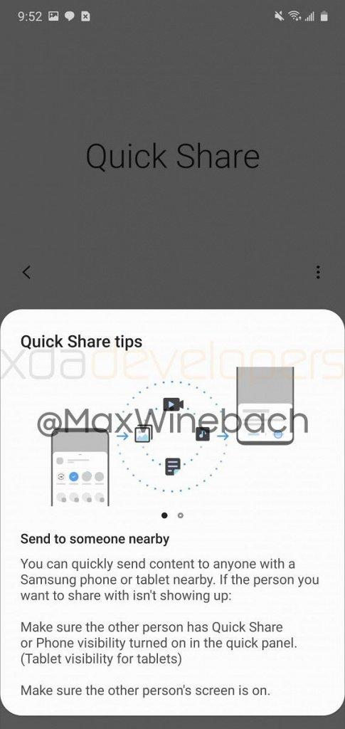 QuickShare Samsung 3
