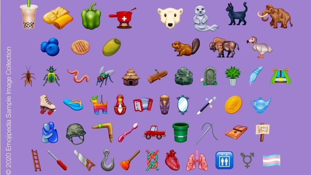 Unicode Emoji 2020