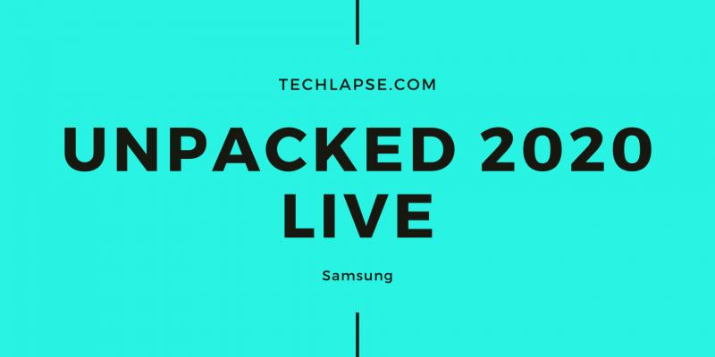 Unpacked 2020 Live
