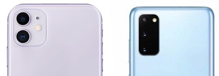 Galaxy S20 VS iPhone 11 Camera