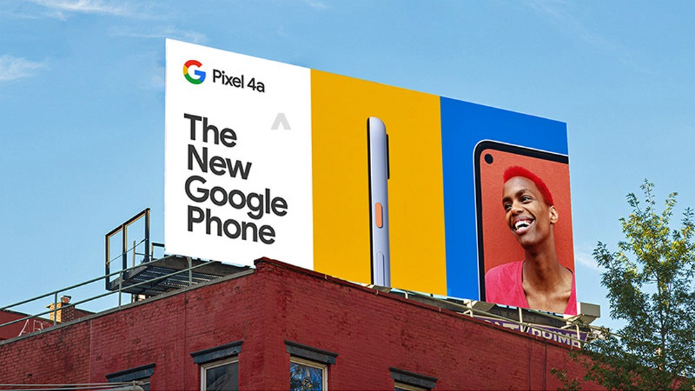 Pixel 4a Billboard 3