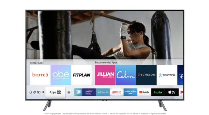 Samsung Health TV