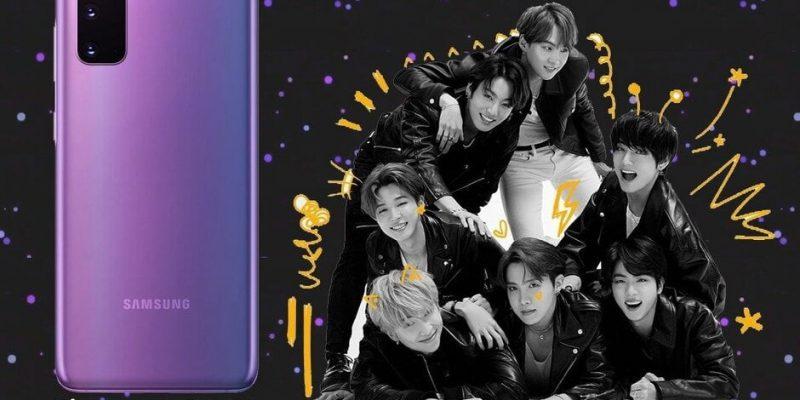 Samsung Galaxy S20 + BTS Edition