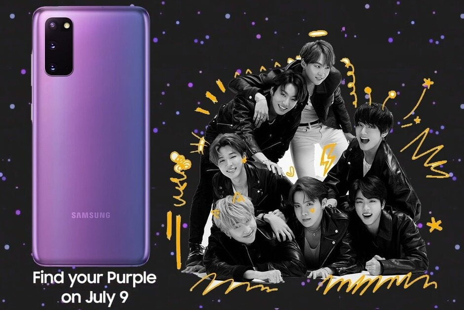 Samsung Galaxy S20 Bts Edition Likely To Launch In Europe Tech Lapse