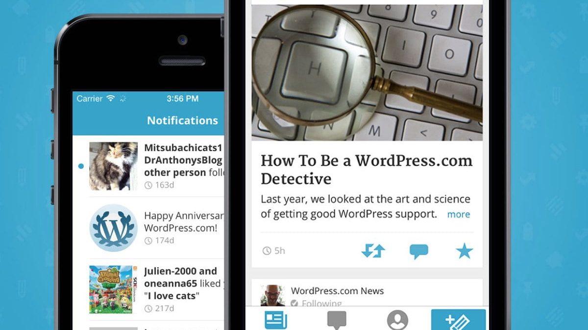 WordPress IOS