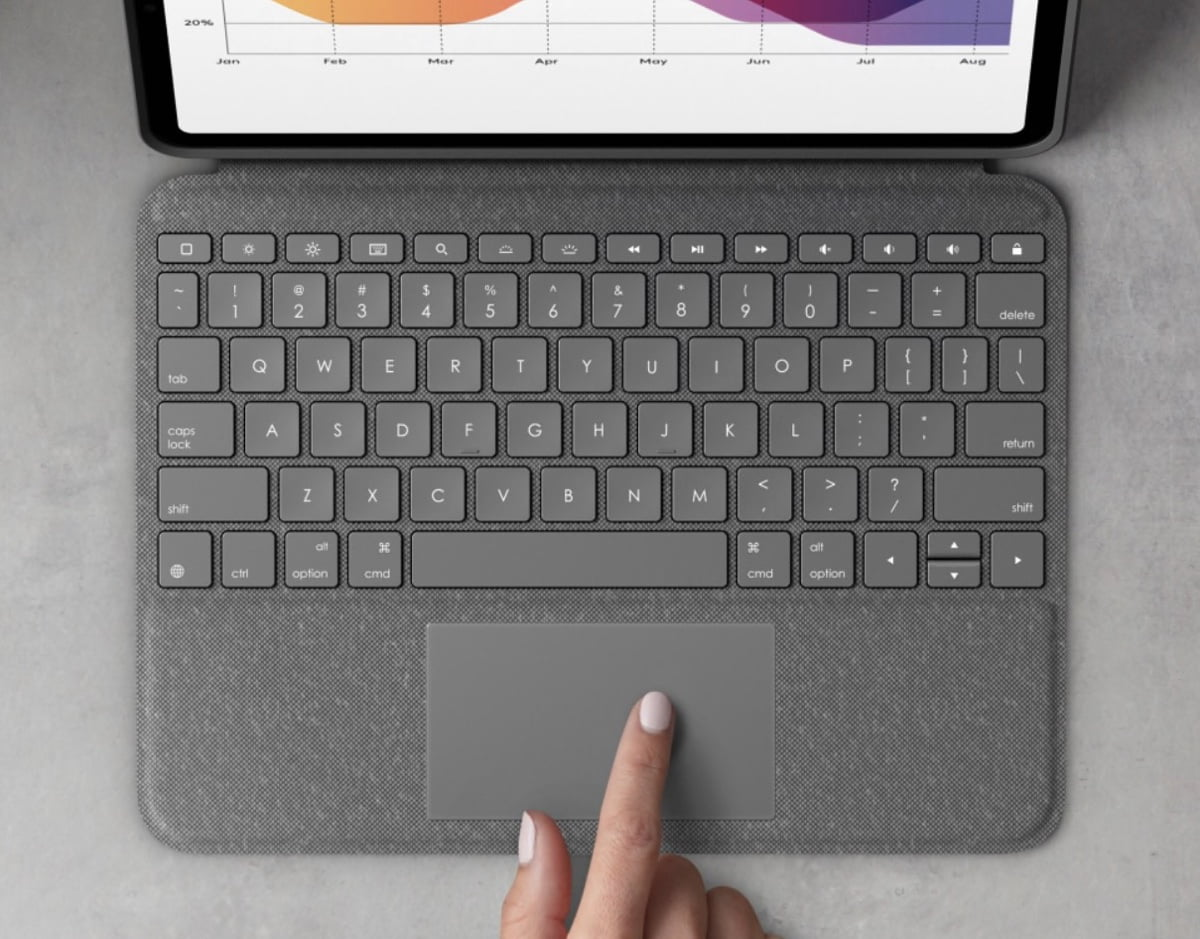 Logitech Folio Touch is the all-rounder cover for iPad Air 4