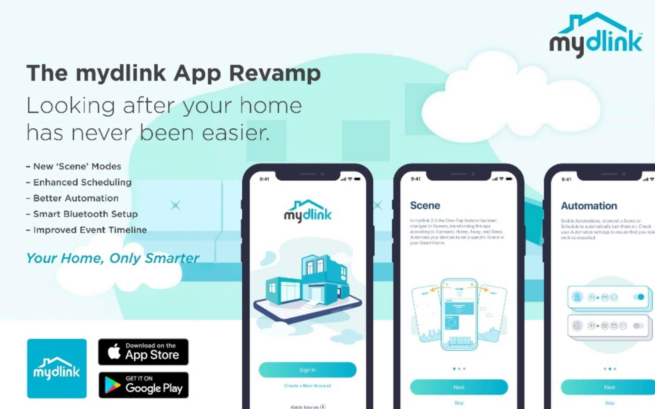 D-Link releases the new mydlink app for managing smart home products