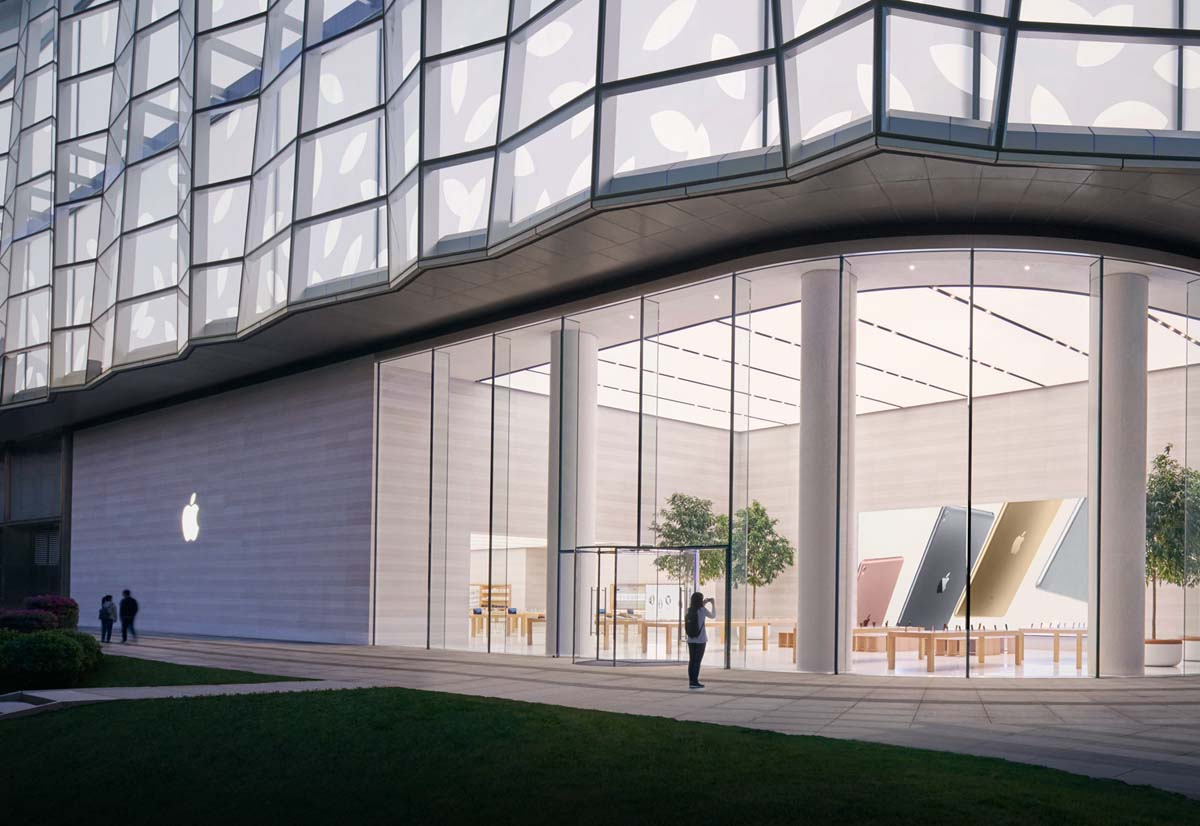 Apple thinks of retail stores as distribution centers to speed up deliveries