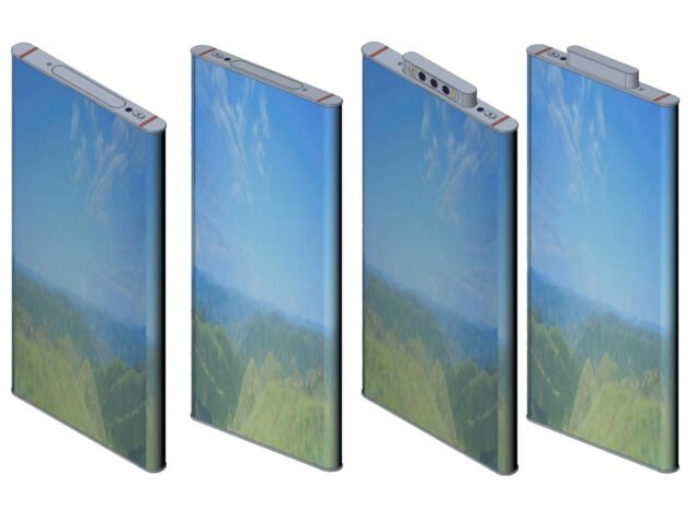 xiaomi patent wrap smartphone display
