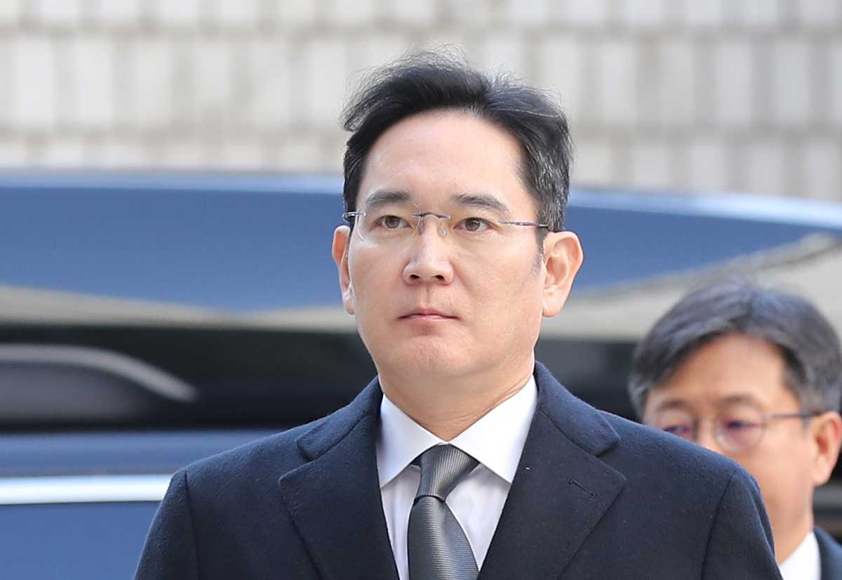 Samsung Electronics VC Lee Jae-yong sentenced to two and a half years for corruption