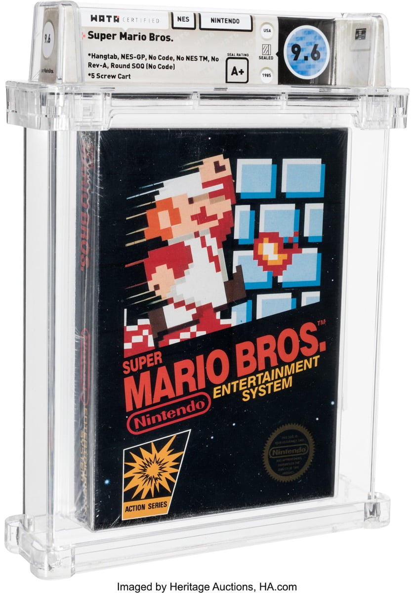 The first and original Super Mario Bros wins auction for $ 660,000